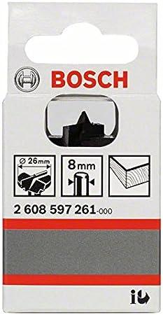 d 8 mm Bosch Professional Zubeh/ör 2608597261 Scharnierlochbohrer WS 26 x 56 mm