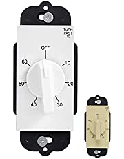 GE Countdown Timer, in Wall Mechanical Switch, Spring Wound