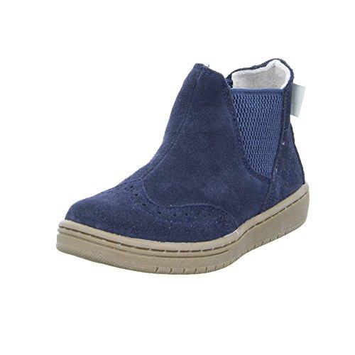 ESPRIT 086EKKW010 Kinder Chelsea Boots Rindsleder Fleece Warmfutter Navy
