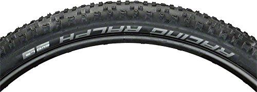 - SCHWALBE Racing Ralph Liteskin Tire 29 x 2.25 EVO Folding Bead Black with Addix
