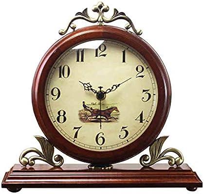 CQ Reloj Arte Mesa Reloj Sala de Estar Moderno Minimalista Reloj ...