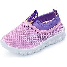 KEVENI Little Kids Breathable Mesh Lightweight Aqua Water Shoes Boys Girls Sneakers For Walking Running Pool Beach