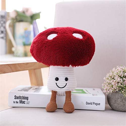 Lovely 3D Mushroom Pillow Stuffed Plush Mushroom Pillow Plush Toys 7.8Inch