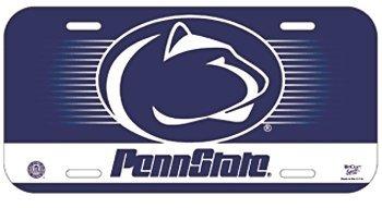(NCAA Penn State University License Plate)