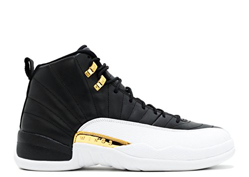 Skye Collier Athletic Sport Basketball Running Sneaker 63596318717 Air jordan 12 Retro Wings no Limit Number Black Metallic Gold White 012421 1 Breathable Athletic Sports ()