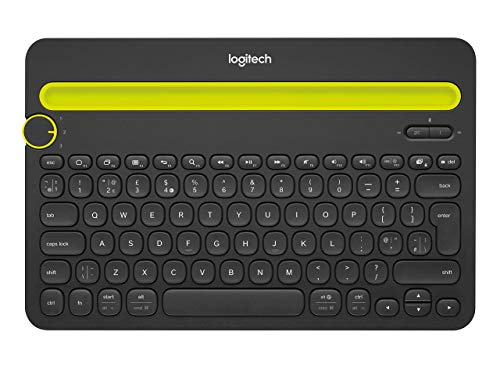 Logitech Bluetooth Multi-Device Keyboard K480 for Computers. Tablets and Smartphones. Black - 920-006342 (Renewed) from Logitech