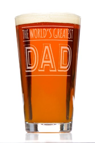 World's Greatest Dad Beer Pint Glass