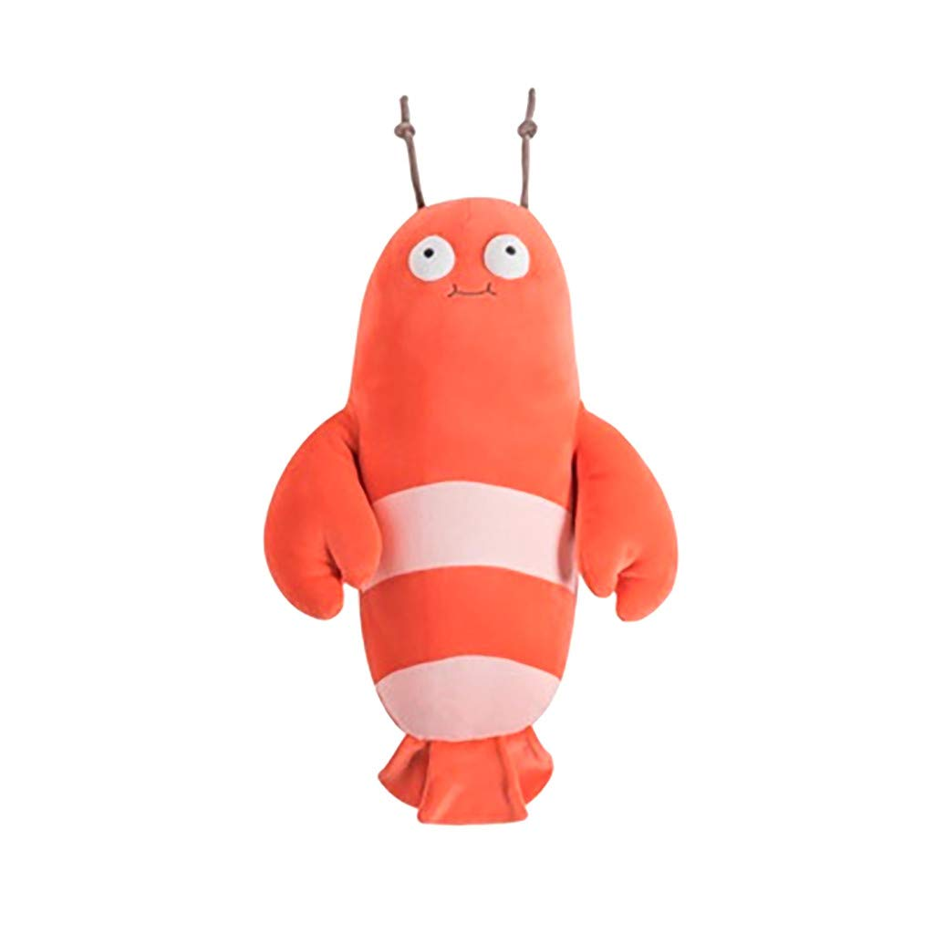 1KTon Cute Sofa Pillow Cartoon Marine Life Plush Doll Child Doll Home Decorative Gift Toy by 1KTon