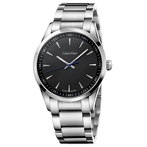 Calvin Klein K5A31141 Black Dial Stainless Steel Men's Watch