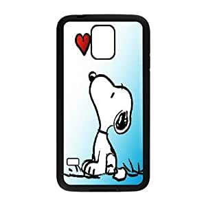 [AinsleyRomo Phone Case] For Samsung Galaxy S5 -Cute Dog Snoopy-Style 7