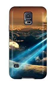 Cute Tpu CaseyKBrown Space Flight Case Cover For Galaxy S5