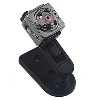 GenLed HD 1080P Mini Hidden Spy Camera DV Indoor/Outdoor Sport Portable Handheld Voice Video Recorder with Infrared Night Vision,Video,PC Camera,Record,Take Photos,Motion Detecting,TF Card Slot by GenLed
