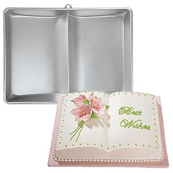 Baking Cake Mold Bakeware Aluminum Book Shape Cake Mold // Molde de pastel hornear utensilios