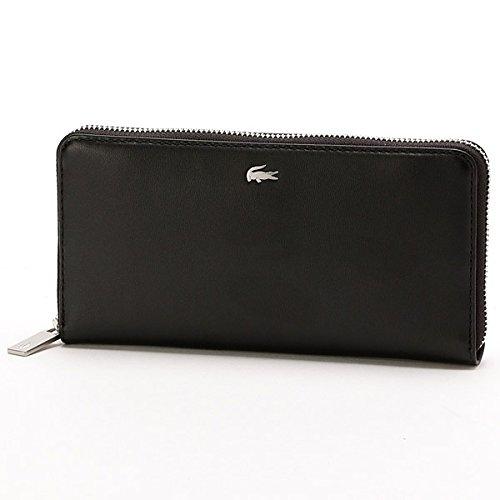 ab2db205a74c Amazon   ラコステ(LACOSTE) ラコステ FG長財布【ブラック/000(FREE)】   LACOSTE(ラコステ)   メンズバッグ・ 財布