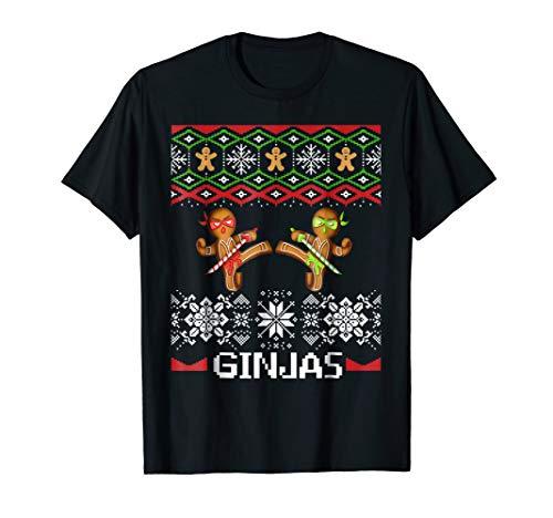 Ginjas Gingerbread Ninjas Ugly Christmas -