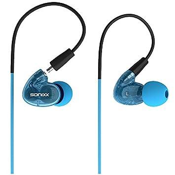 94cd7b760fd Sonixx X-Sprint Sport Ear Hook Headphones - Two: Amazon.co.uk: Electronics