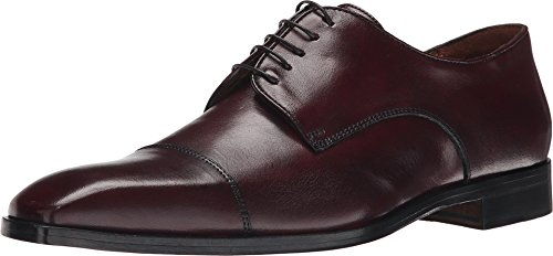 Massimo Matteo Mens 5-Eye Cap Toe Bordo GqUOL
