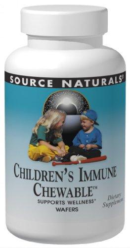 Source Naturals Wellness Children's Immune Chewable, Great-Tasting Defense Complex, 120 (Great Tasting Chewable)