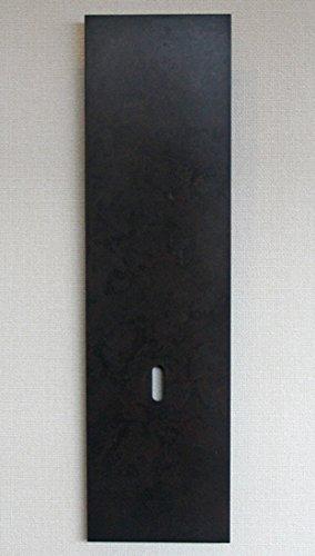 花瓶一輪挿し on the wall mini 斑紋黒染色 高岡銅器 花器フラワーベース B01NBKHPVK