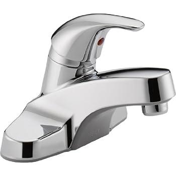 Peerless P131LF Classic Single Handle Bathroom Faucet, Chrome