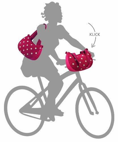 KLICKfix Damen Lenkertasche Stylebag Schwarz al7ShXwf
