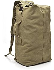SVANZE Large Capacity Rucksack Man Travel Bag Mountaineering Backpack Male Luggage Boys Canvas Bucket Shoulder Bags Men Backpacks