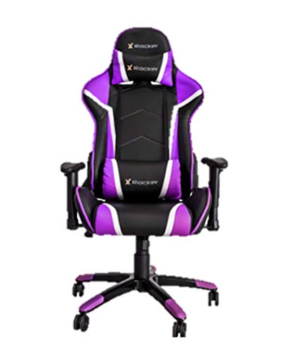 X Rocker Agility Gaming Chair - Purple (Best Gaming Chair 2019 Under 200)