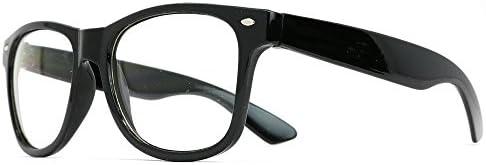 Skeleteen Retro Nerd Costume Glasses product image
