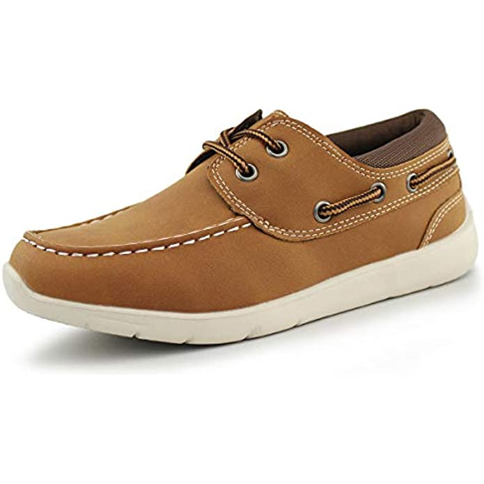 Hawkwell Kids Boys Loafers Casual Boat Shoes(Toddler/Little Kid)