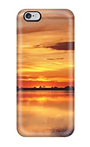 Brand New 6 Plus Defender Case For Iphone (the Orange Sunset)