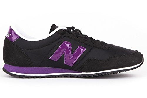New Balance - U396, Zapatillas Hombre, Black/Violet, 38.5 EU