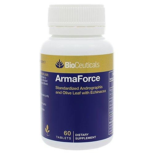 BioCeuticals ArmaForce Immune Support Olive Leaf 60 Caps Vegan
