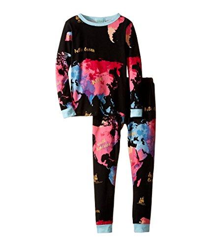 BedHead Kids Boy's Long Sleeve Long Pants Set (Toddler/Little Kids) Bon Voyage Pajama Set 4T (Toddler)