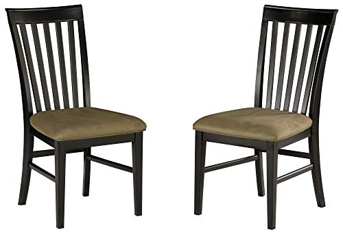 Atlantic Furniture AD771131 Mission Dining Chairs, Height, Espresso