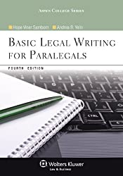 Image of the product Basic Legal Writing for that is listed on the catalogue brand of Brand: Aspen Publishers.