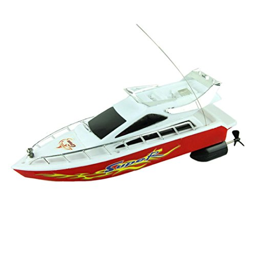 Venom Remote Control Boat for Pools,Lakes and Outdoor Adventure——RC Helicopter Speed Electric Toys Model Ship (Random) - Venom Electric Helicopter