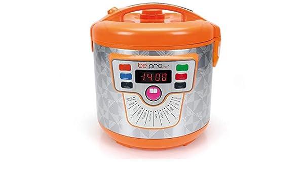 BUYGIFTS Robot | Robot de Cocina | Robot Cocina 14 menus programable 5 litros con presión Deli Cook Naranja: Amazon.es