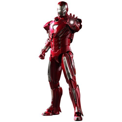 Price comparison product image Movie Masterpiece Iron Man 3 1 / 6 scale figure Iron Man Mark 33 (Silver Centurion)