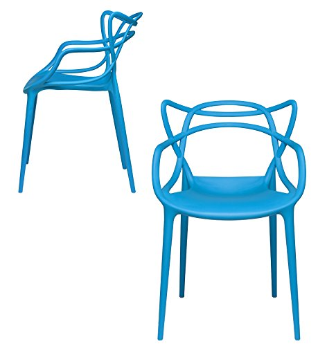 Amazon Com Set Of 2 Masters Entangled Chair Replica