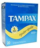 Tampax Regular 20 Tampons (Pack of 24)
