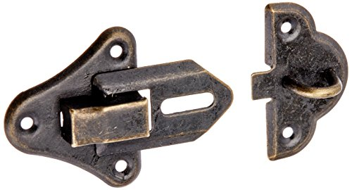 Hardware Jewelry Wood Latch Bronze