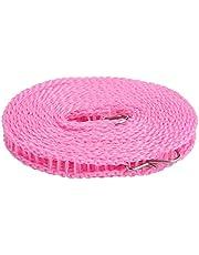 VGEBY1 Linka do prania, nylon, antypoślizgowa, wiatroszczelna, do suszenia ubrań, na kemping, do użytku domowego