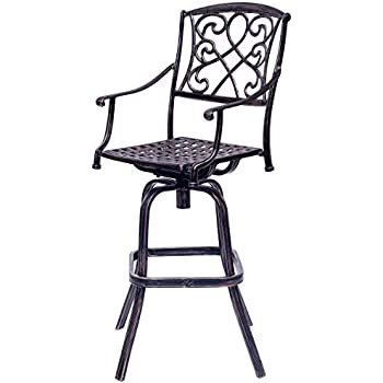B00H5WLFM8 on black wicker garden furniture