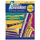 Accent on Achievement, Book 1 - B-Flat Clarinet - Bk+CD