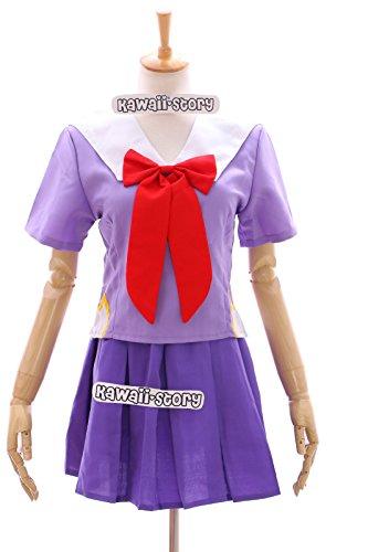 MN-01 Mirai Nikki Yuno Gasai lila Schul-Uniform school Cosplay Kostüm costume Kawaii-Story