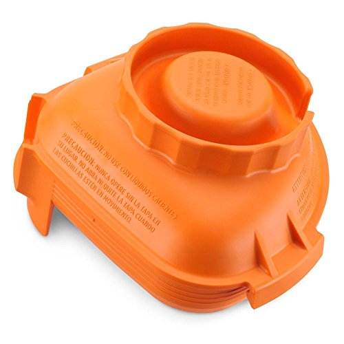 Vitamix 58994 Color Advance Orange Lid for 32/48 Oz Advance - Orange Color Mix