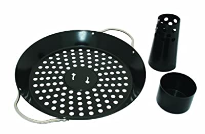 Napoleon 56020 Wok and Beer Can Chicken Roaster