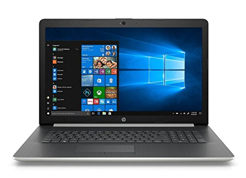 HP 17.3-inch HD+ Laptop PC, Intel Quad Core i5-8250U Processor, 24GB Memory: 16GB Intel Optane + 8GB RAM, 1TB Hard Drive, DVD Writer, Bluetooth, Backlit Keyboard (Silver)