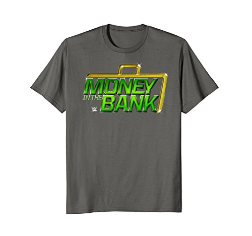 Mens WWE Money In The Bank XL Asphalt by WWE