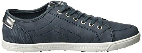 Oliver Damen Denim Sneaker s 802 23631 Blau dpH00xw